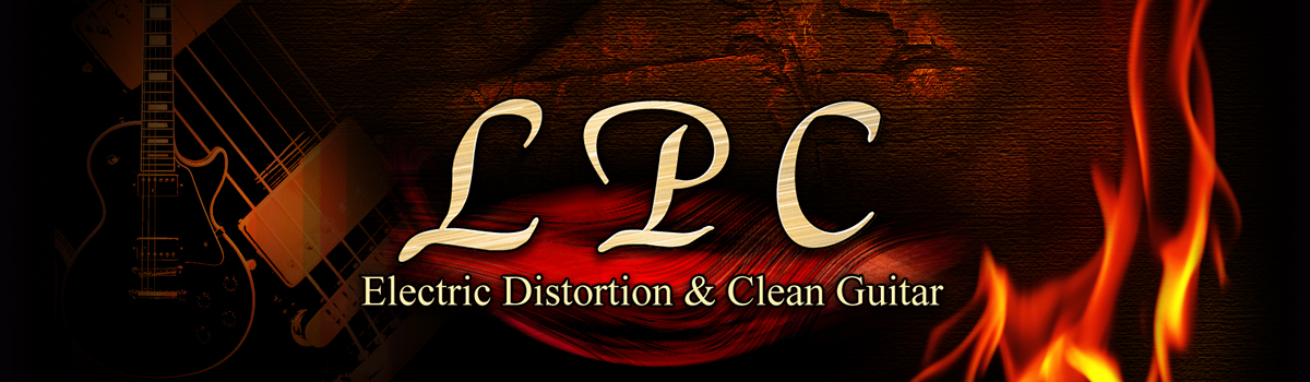 LPC Electric Distortion and Clean Guitarのイメージ画像