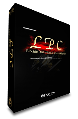 LPC Electric Distortion and Clean Guitarのパッケージ