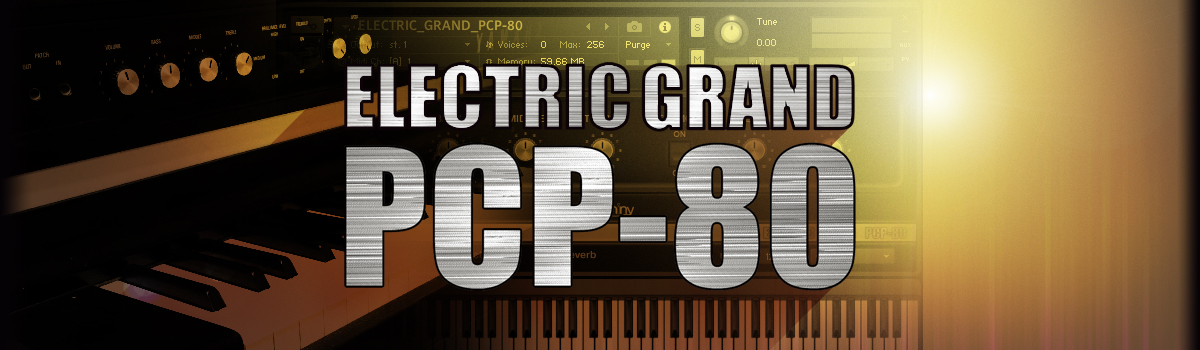 Image of ELECTRIC GRAND PCP-80