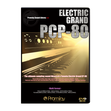ELECTRIC GRAND PCP-80のパッケージ