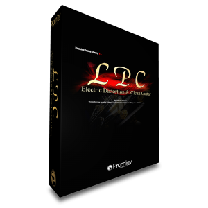 LPC Electric Distortion and Clean Guitar (boxed version)