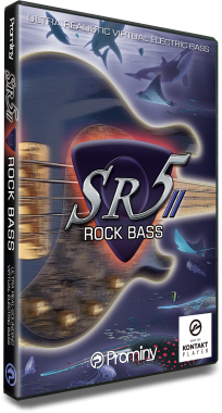 SR5 Rock Bass 2のパッケージ