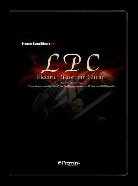 LPC エレクトリック・ディストーション・ギターのパッケージ