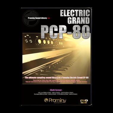 エレクトリック・グランド PCP-80のパッケージ